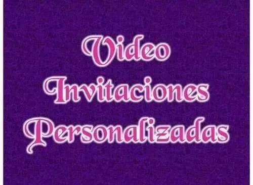 video tarjeta invitacion o felicitacion personalizada