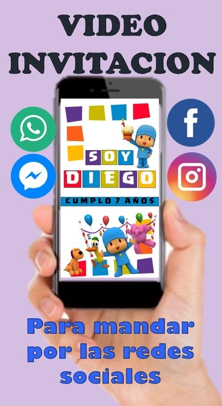 Video Tarjeta Invitación Virtual Personalizada Para Nenas