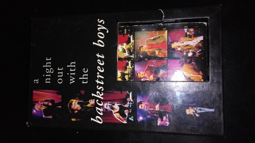 video vhs a nighy out with the backstreet boys