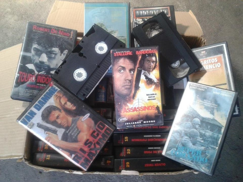 video vhs fitas