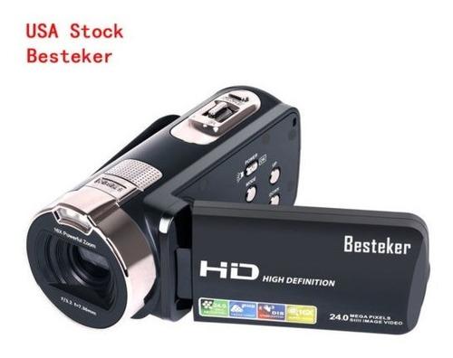 videocámara de alta definición de la cámara de vídeo del zoo