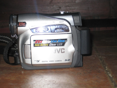 videocámara digital jvc con manual y estuche