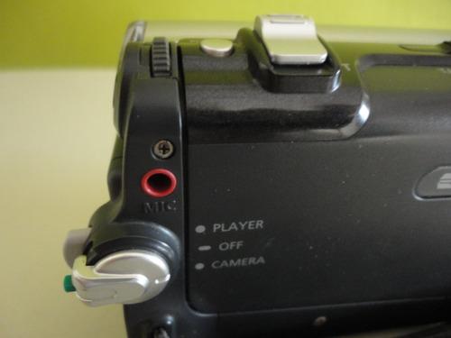 videocámara digital modelo sc-d455 marca samsung color gris