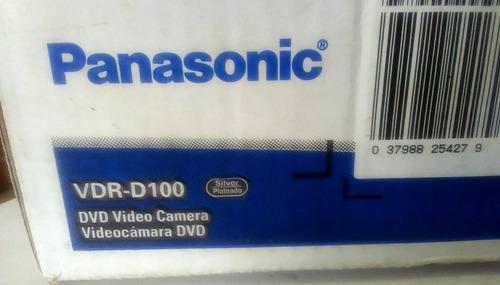 videocámara dvd vdr-d100 con 30x de zoom óptico panasonic