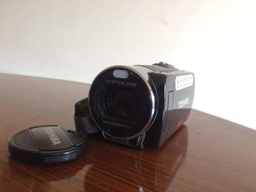 videocámara - filmadora full hd 1080 toshiba camileo x200