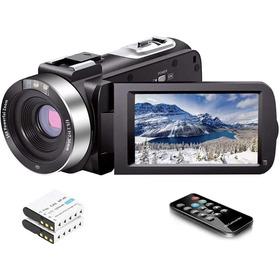 Videocámara Full Hd 1080p 30fps 24.0 Mp Ir Visión Nocturna