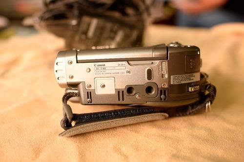videocamara mini dvd canon ntsc dc20