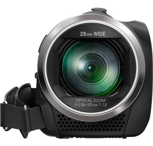 videocámara panasonic hc-v180k full hd con zoom óptico
