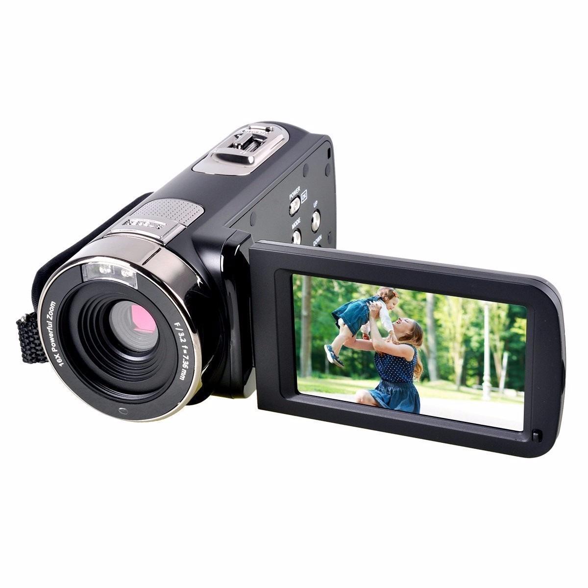 Videocámara Powerlead Pl301 Hd 1080p Ir Night Vision 24.0 ...