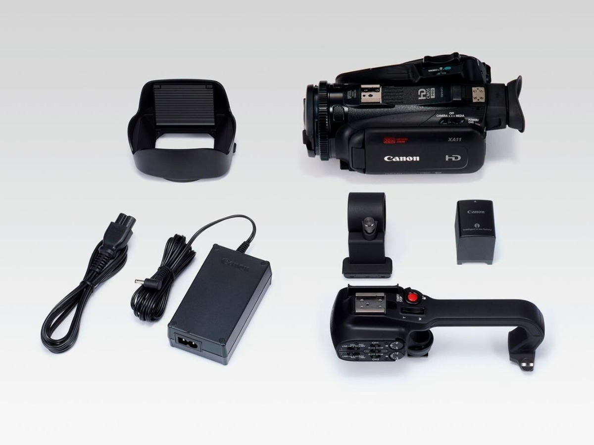 Kit de Carga para videoc/ámara Canon XA11 Incluye bater/ía BP-820