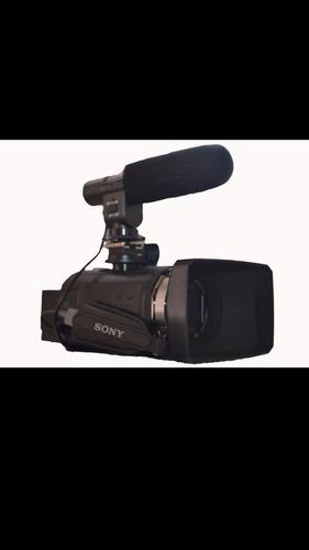 videocámara profesional sony pj540 micrófono externo