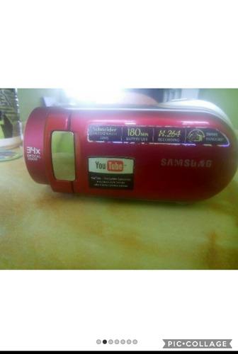 vídeocámara samsung scmx20  con memoria flash w / 34x zoom
