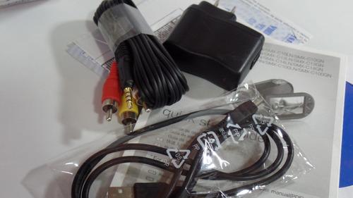 videocámara samsung smx-c10 usada sd 2gb cable tv cargador