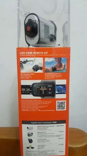 videocámara sony action cam hdr-as100v nueva