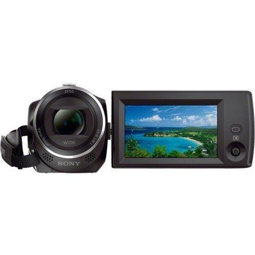 videocámara - sony cx405 flash memory  - black