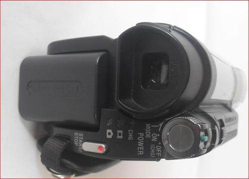 videocámara  sony dcr-dvd610 optico 40x digital 2000x mcd