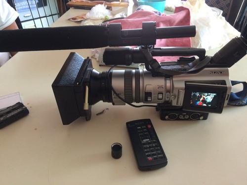 videocámara sony dcr-vx2000 con batería y cargador
