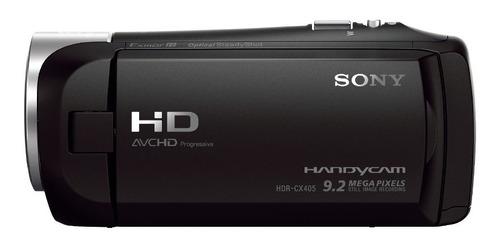 videocámara sony handycam con sensor exmor r-hdr-cx405