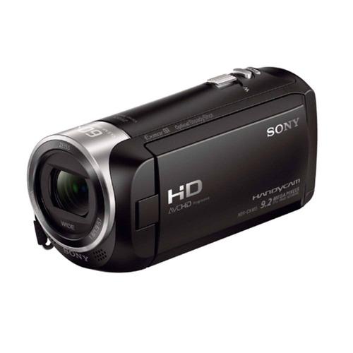 videocámara sony handycam cx-405 + estuche y batería extra