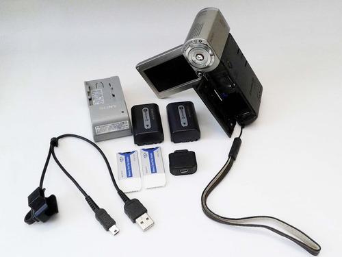 videocámara sony hdr-tg1 high definition handycam