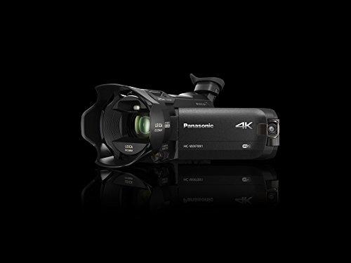 videocámara tipo cinematográfica panasonic hc-wxf991k 4k, le
