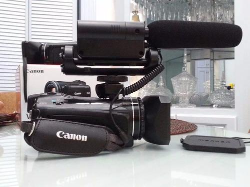 videocamara vixia hf m41 full hd profesional c/accesorios