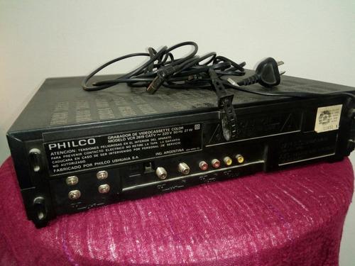 videocasetera philco