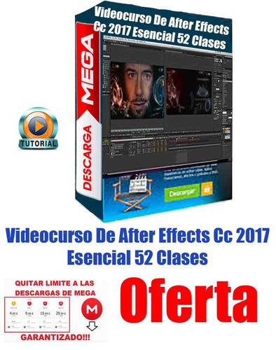 videocurso de after effects cc 2017 esencial 52 clases