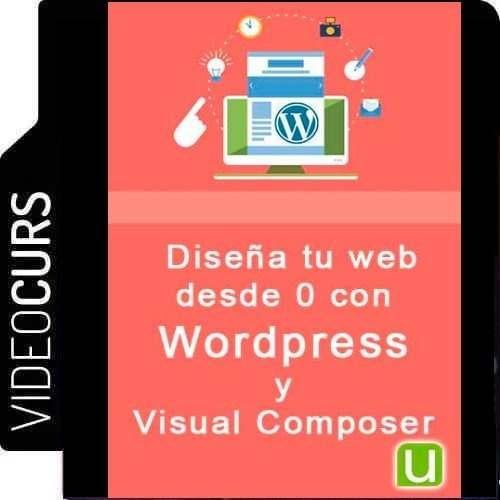 videocurso de diseña tu web desde 0 con wordpress y visual c