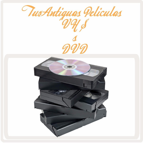 videograbadora digital para convertir beta vhs video8 a dvd
