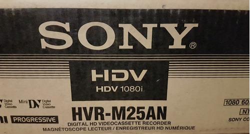 videograbadora profesional sony  hvr-m25an