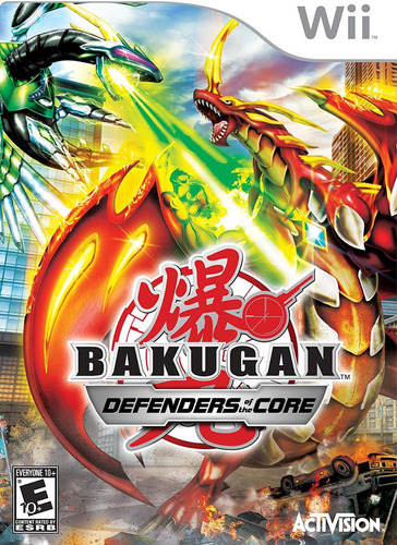 videojuego bakugan defenders of the core nintendo wii gamer