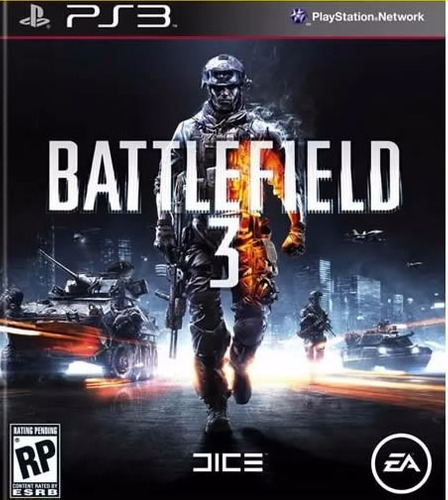 videojuego battlefield 3 by electronic arts ps3 *nuevo*
