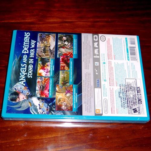 videojuego bayonetta 2 standard edition wii u nuevo sellado