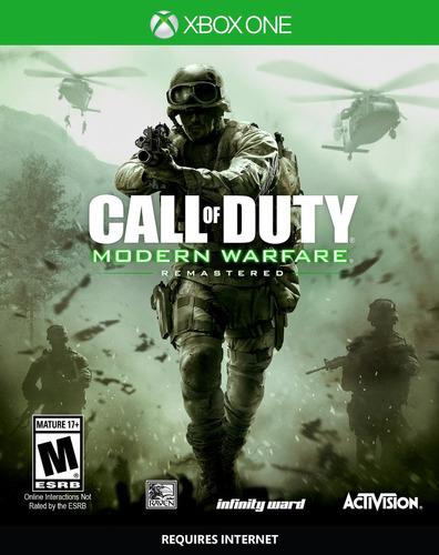 videojuego call duty warfare xbox one