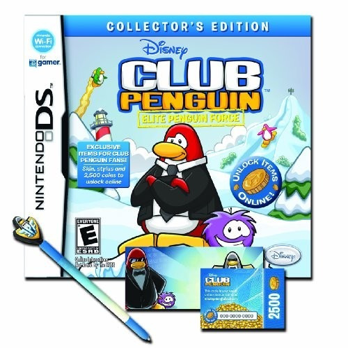 videojuego club penguin elite penguin force edición colecci