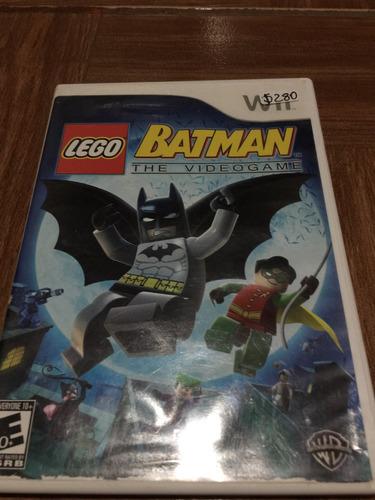 videojuego de  lego batman para wii