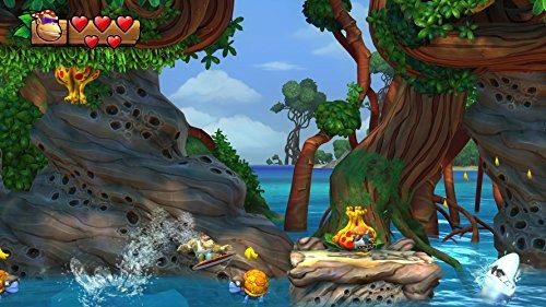 videojuego donkey kong country: tropical freeze nintendo