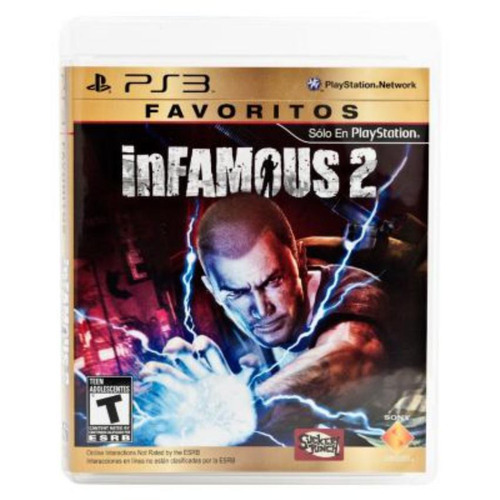 videojuego favorito infamous 2