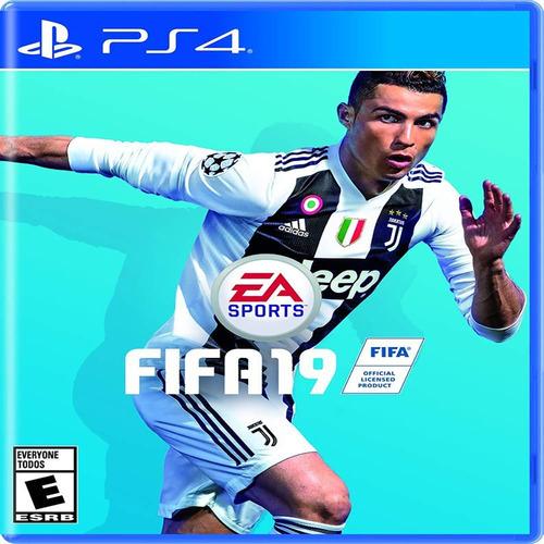 videojuego fifa 19 ps4 incluye champions league + balon # 5
