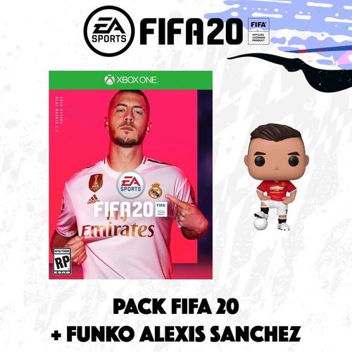 videojuego - fifa 20 - xb1 - fisico + funko alexis sanchez