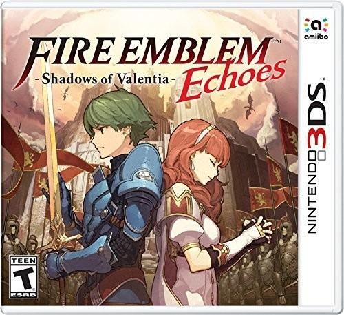 videojuego fire emblem echoes: shadows of valentia nintendo