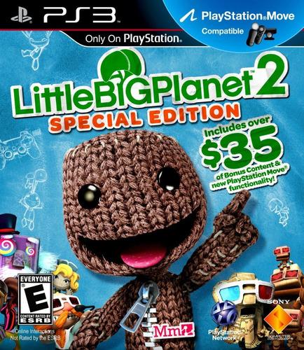 videojuego físico ps3 little big planet 2 tienda//garantía