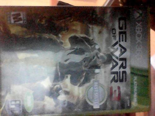 videojuego gears war xbox 360