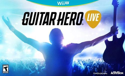 videojuego guitar hero live wii u activision gamer