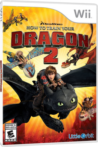videojuego how to train your dragon 2 para wii