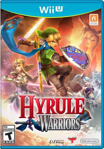 videojuego hyrule warriors wii