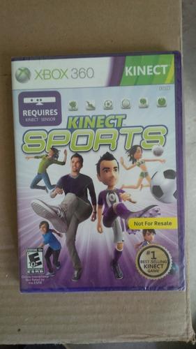 videojuego juego xbox 360 kinect sports juego