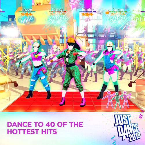 videojuego just dance 2019 wii standard edition