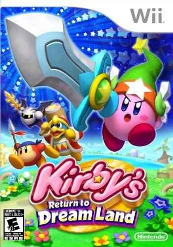 videojuego kirby's vuelta a la isla de los sueños para wii